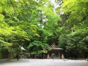 京都、貴船神社の奥宮